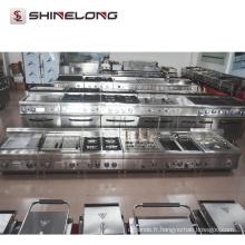 Qualité anti-corrosif 304 en acier inoxydable restaurant gaz lave lave-gril