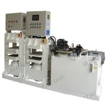 Prensa hidráulica de moldagem a quente e a frio para fibra de carbono