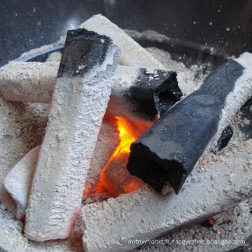 Charbon de bois carré en bambou pour l'usage de Shisha Hoooka