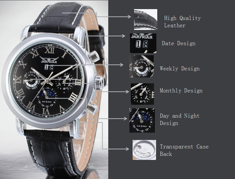 Wholesale Tourbillon Automatic Watch Custom Logo