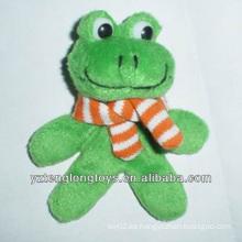 Imán decorativo de moda de la rana de la felpa de la venta al por mayor de la fábrica