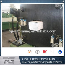 Machine de formage de rouleaux de tuyaux / plongeurs personnalisés automatiques pour tuyaux de pluie