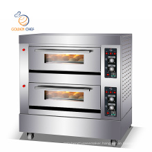 GAS 2 deck 6 trays/commercial pizza oven/bakery machinery