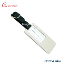 Zinc Alloy Silver Luggage Tag for Promotion Gift