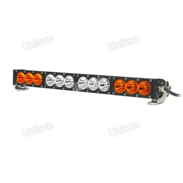 """Barra de luz LED para carro 22 """"âmbar 120 W única linha"""