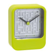 Simple Green Orenge Blue Red White Quartz Clock Wakeclock