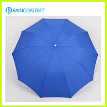 Ron-006 aluminio Auto abrir y cerrar el paraguas plegable
