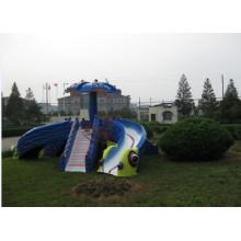 Children Outdoor Playground Big Slide