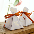 Romantic candy box wedding favors package