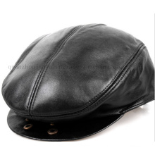 OEM Leathern Beret Hat and Cap for Promotion Gift