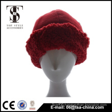 New design fleece little red hat factory wholesale cap