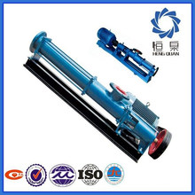 G Type stainless steel chemical Single stage Screw Pump