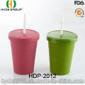 2016 New Style Bamboo Fiber Cup with Straw (HDP-2012)