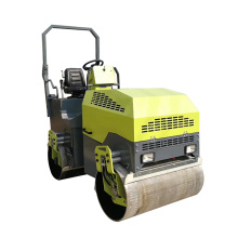 Double vibration full hydraulic ride-on road roller