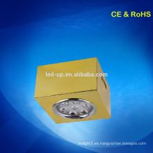 Luz de techo llevada cuadrada de la superficie 7w / luz llevada del punto / downlights llevados