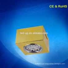 7w superfície montada luz de teto conduzida quadrada / led spot light / led downlights