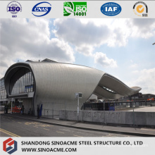 Steel Structure Pipe Truss Building for Bus Station