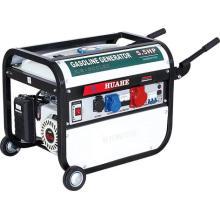HH2800-B07 Movable Home Gebrauch Benzin-Generator mit Rädern (2KW-2.8KW)