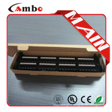 Good price&high quality Cat5e/cat6 with jacks 24/48 Best Price 1u network patch panel diagram