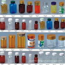 Plastic pill bottle tablet bottle capsule bottle medicine bottle