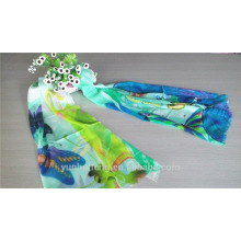 Printed pashmina scarf for women