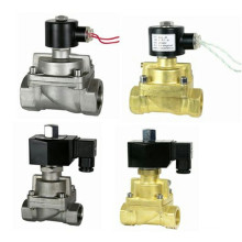 Válvula solenoide normalmente cerrada por vapor (SLA)