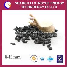 8-12mm Carvão activado com casca de porca de alta qualidade para purificação de água potável
