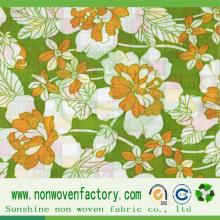 La Chine Sunshine a imprimé le fabricant de tissu non-tissé