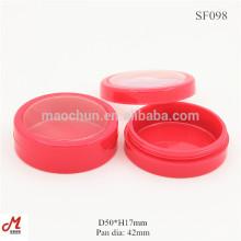 SF098 Plastic powder jar cream plastic jars and lids