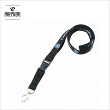0,75 Inch Quality En71-3 / Cpsia Factory Wholesale Lanyard com titular de identificação Clip