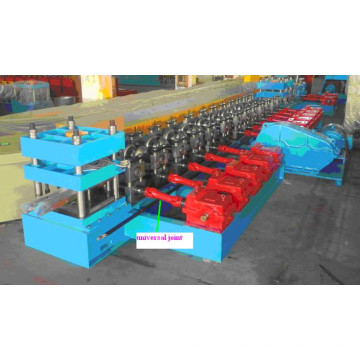 W Beam Galvanized Highway Guardrail Roll formando máquina da China para Pequenas Empresas