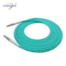 LC / UPC Multimode OM3 LWL-Kabel PVC / LSZH Jacke 2,0 mm 3,0 mm China Fabrik Lieferant