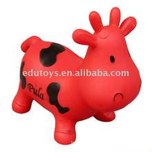 Nueva vaca de salto Vaca inflable juguetes para niños