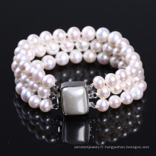 Bracelet Bracelet de perles d'eau douce Wowen