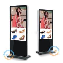 slim type HD 55 inch floor standing lcd advertising display