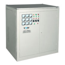 100kVA Three-phase Servo Motor Type AC Automatic Industrial Voltage Stabilizer, Circuit Breaker