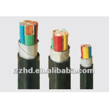 Power copper Cable ---0.6/1KV PVC Insulated cooper conductor