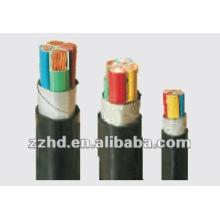 Силовой медный кабель ---0.6/1кв изолированный PVC проводника Бондаря