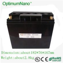 Batterie pour vélo électrique au lithium 12V 20ah