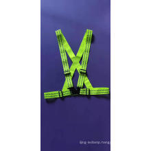 Elastic Band Cheap Reflective Safety Vest with Two Reflective Tape for Running
