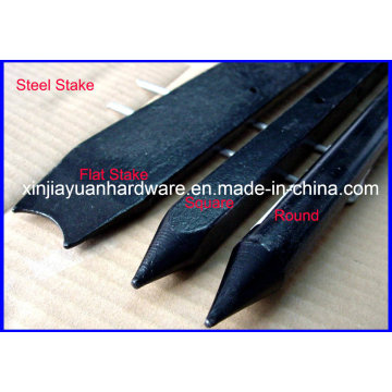 Square Steel Nail Stake