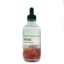 100% Pure Natural Rose Multi-Use Essential Oil Rose Body Massage Oil Rose Petals Essential Oil