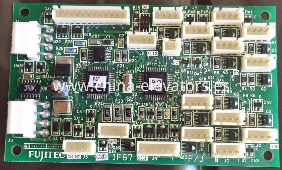 Fujitec Elevator Car Communication Board IF67
