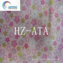 Non-Woven-Stoff mit Sesam DOT Pattern 20% Recycled 80GSM