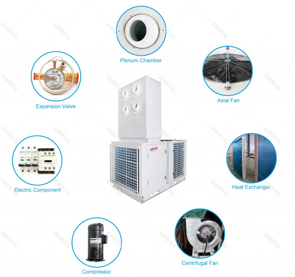 Industrial HVAC Air Conditioner Unit for Tent