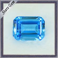 Rectangulaire Forme de gemme à zircon cubique pour bijoux