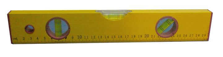 "12"" Yellow Spirit bubble level"