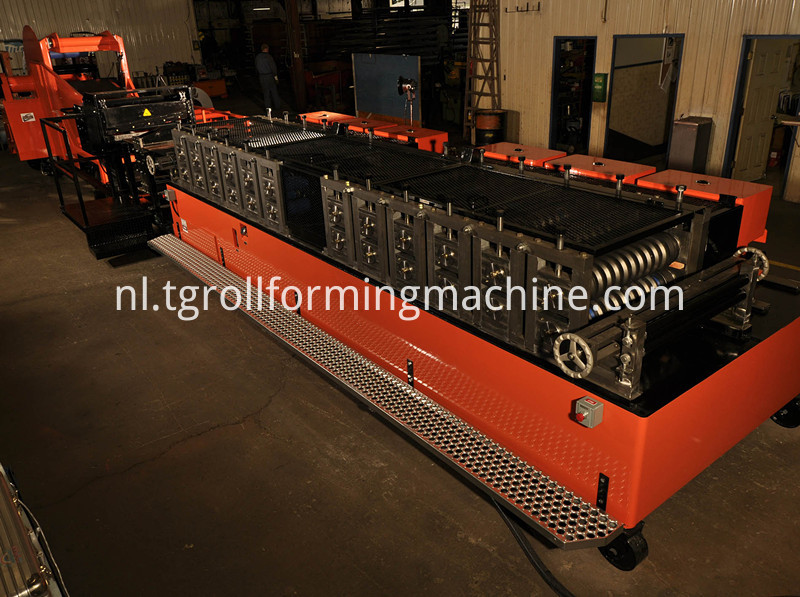 Steel Pipe Making Machine Culvert Machine
