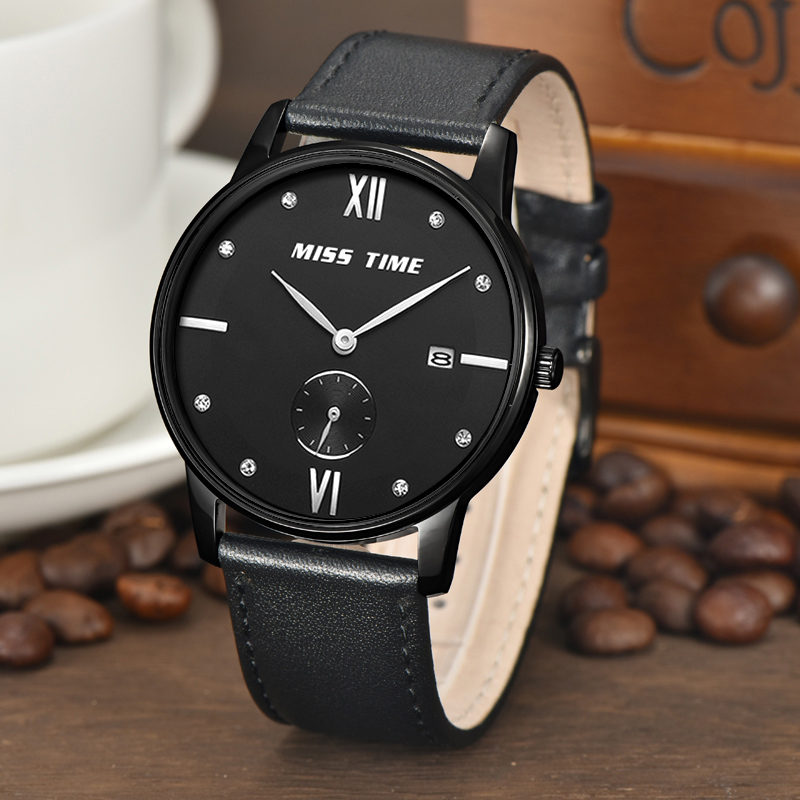 Casule quartz watch back battery custom your logo