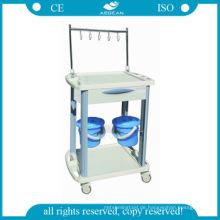 AG-IT001B3 CE ISO medizinische Patienten IV Behandlung Injektion Krankenhauswagen für Händler